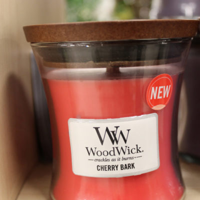 Candela woodwick Cherry Bark