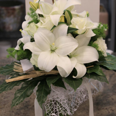 Bouquet lilium rose