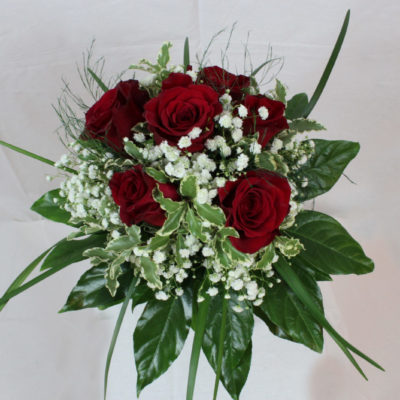 Bouquet 7 Rose Rosse